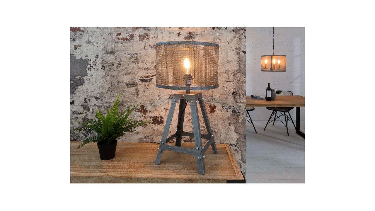 Industrielle Design Lampe À Poser Abat EiffelLuminaires Jour 3LRj5A4q
