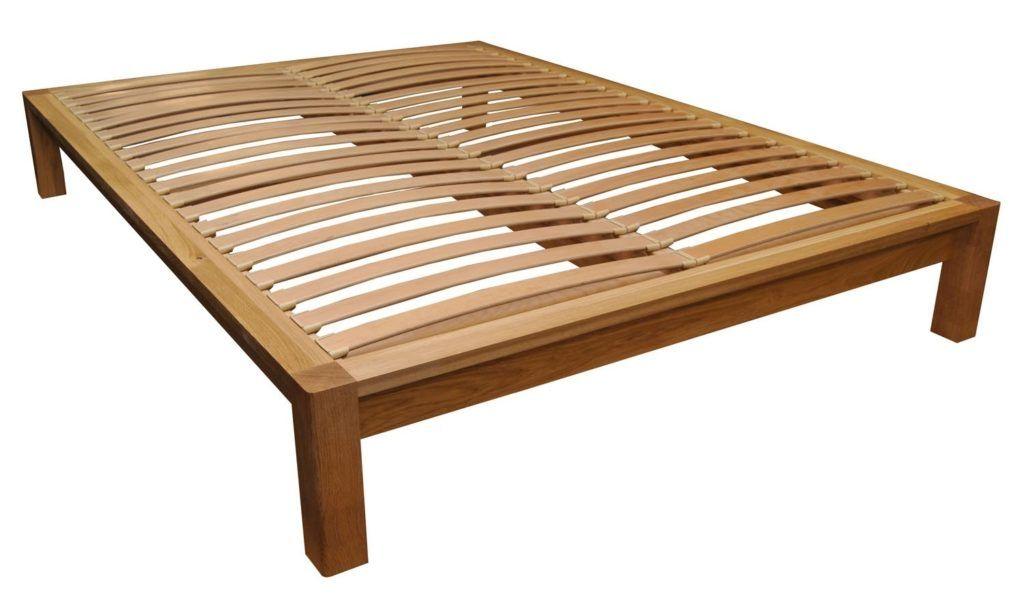 King Size Wood Slat Bed Frame Queen Platform Bed Frame Bed
