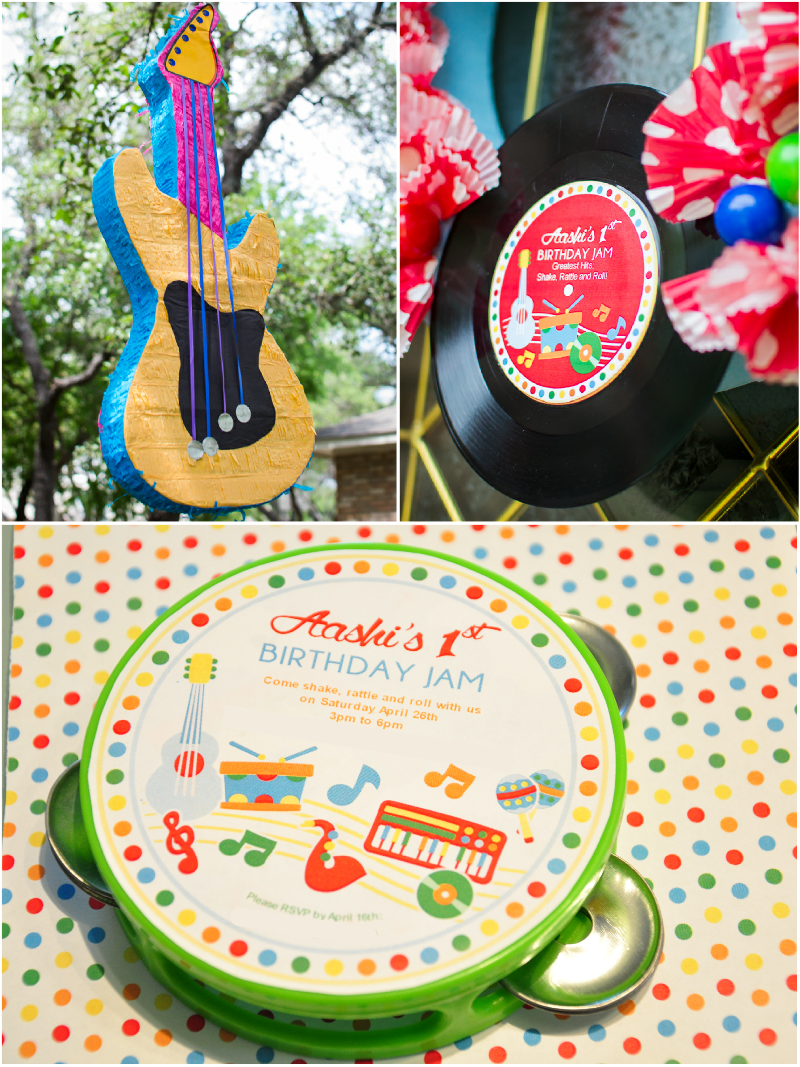 Music Inspired DIY Birthday Party Decorations