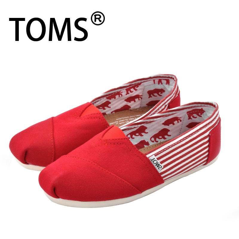 Chaussures Rouges Toms Enfants FrzkHuX