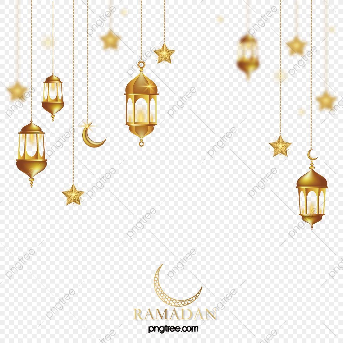 Three Dimensional Golden Ramadan Lantern Stars Moon Hanging Ramadan Moon Muslim Png And Vector With Transparent Background For Free Download En 2020 Clipart Lampe Lanterne Lanterne