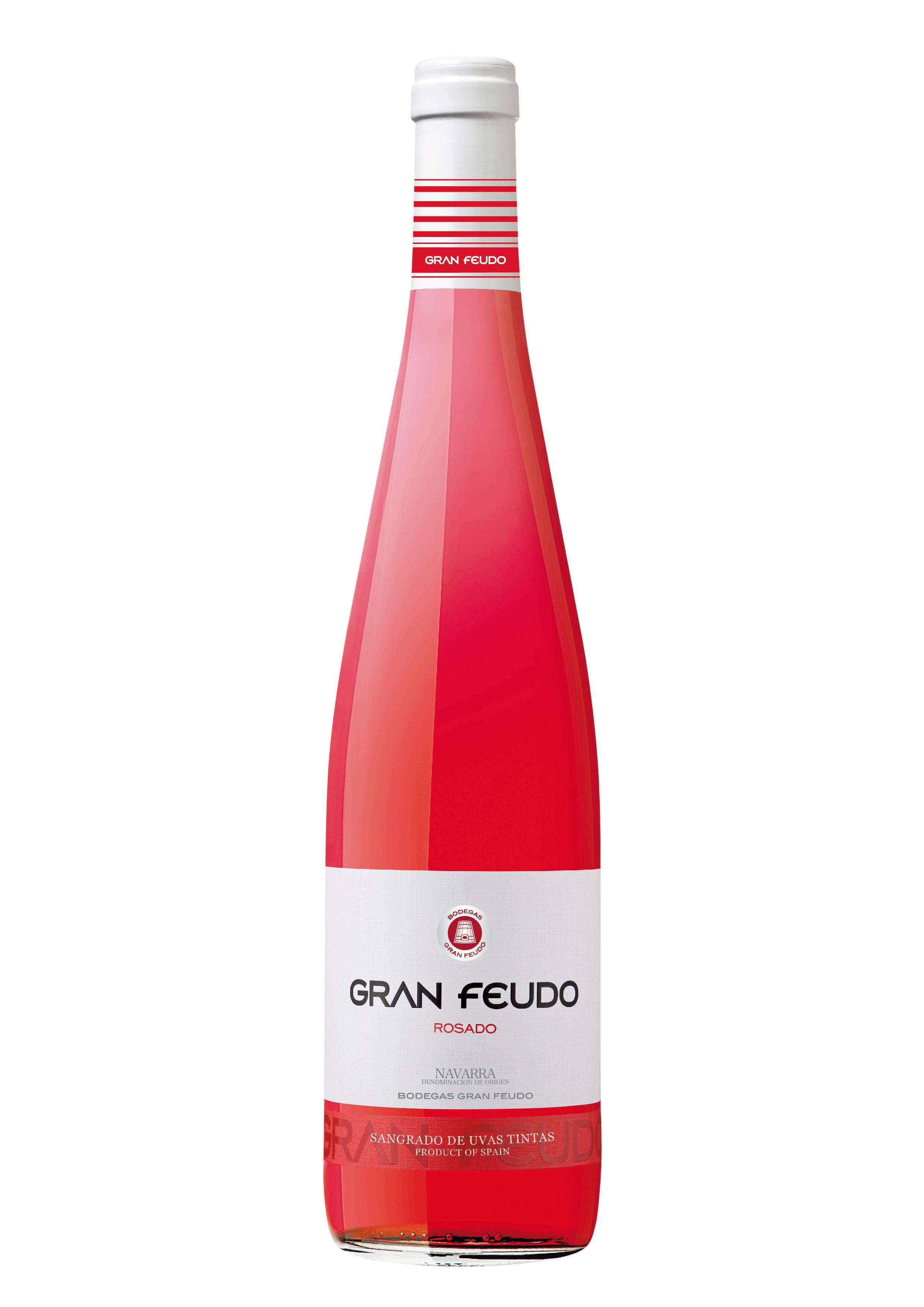 Gran Feudo Rosado Wine Taninotanino Vinosmaximum Bottle Label Design Wine And Spirits Spanish Wine