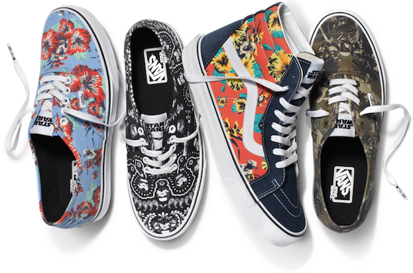 ae00bab634 Vans Releases A Special Collection Of  Star Wars  Sneakers - DesignTAXI.com