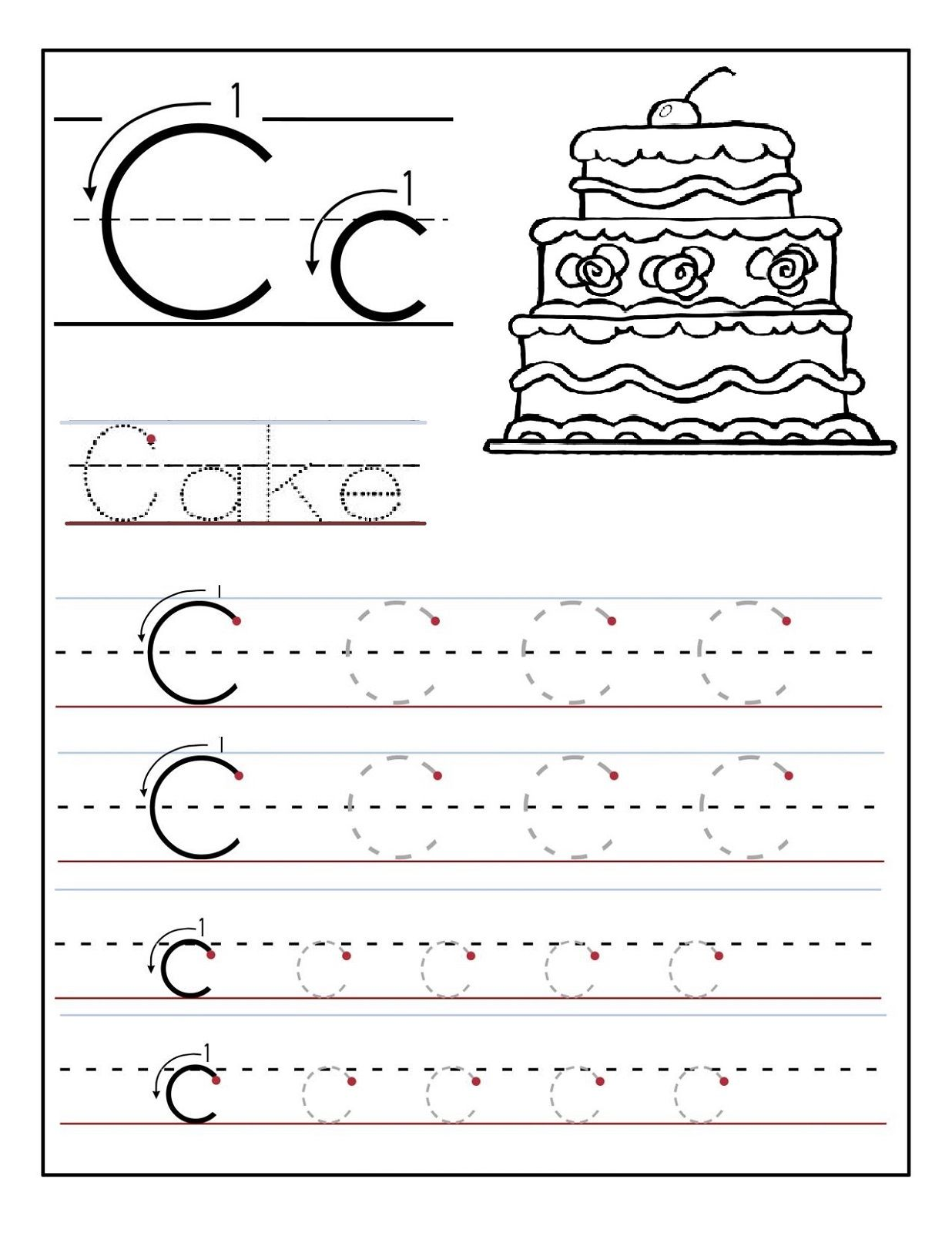 Pin On Lettering Worksheets