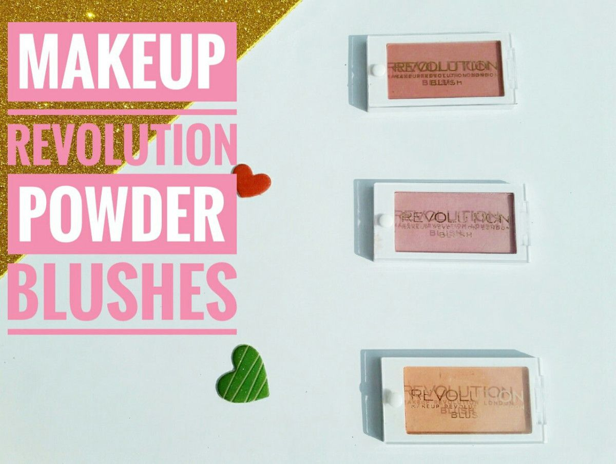 Makeup Revolution Powder Blushes Review & Swatches