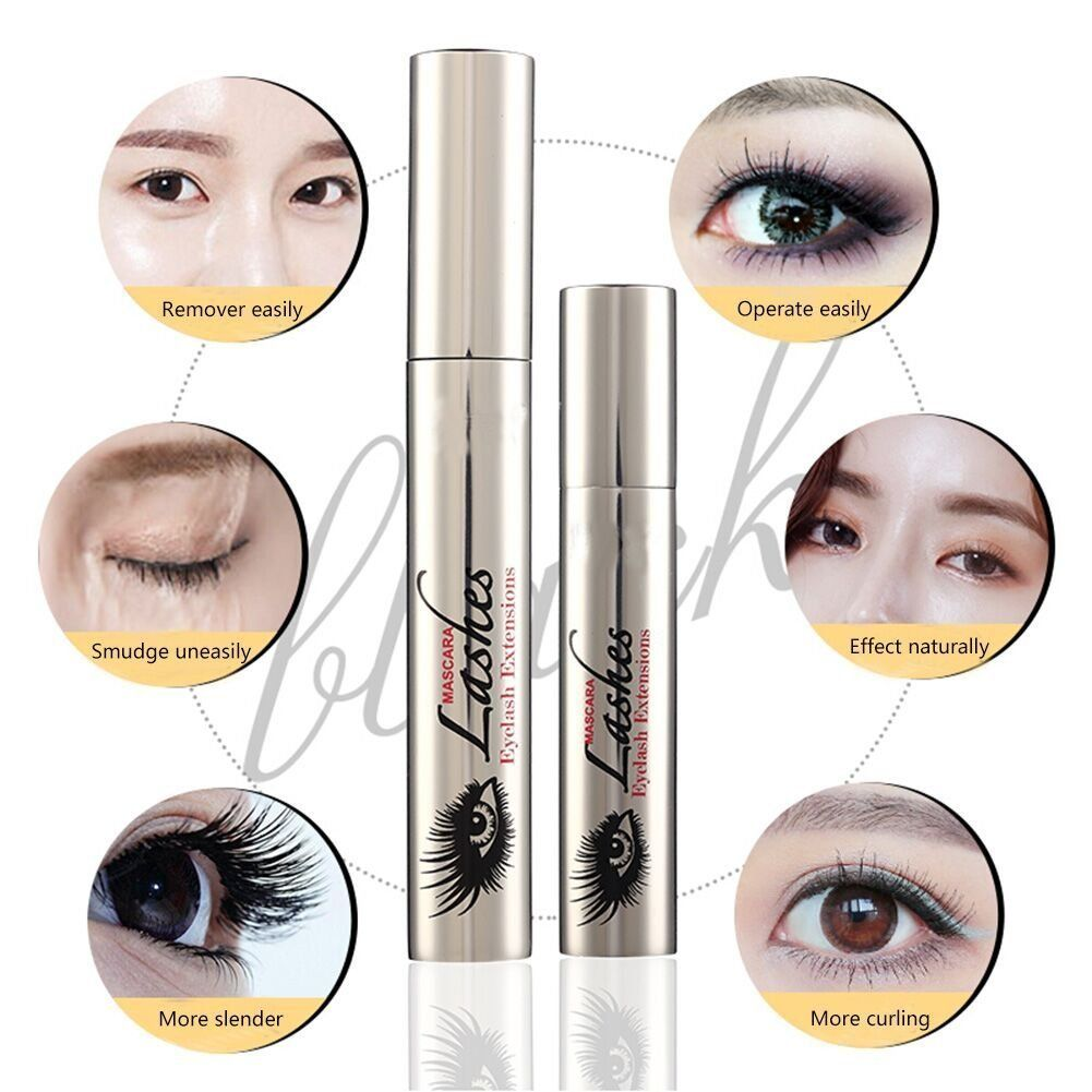 58304472c8f Ddk 4d Silk Fiber Lash Mascara Waterproof Black Cream Makeup Lash Eyelash  Extension Crazy Long Style
