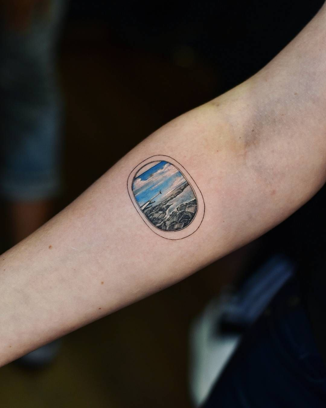Airplane Window Tattoo Best Tattoo Ideas