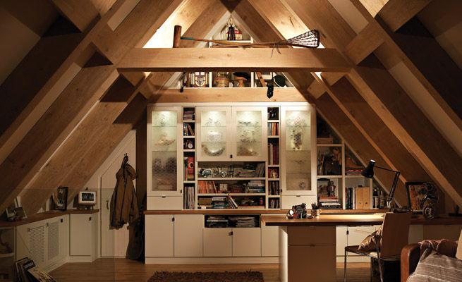 Loft Area For A Frame Cabin Or To Redo An Attic Tiny