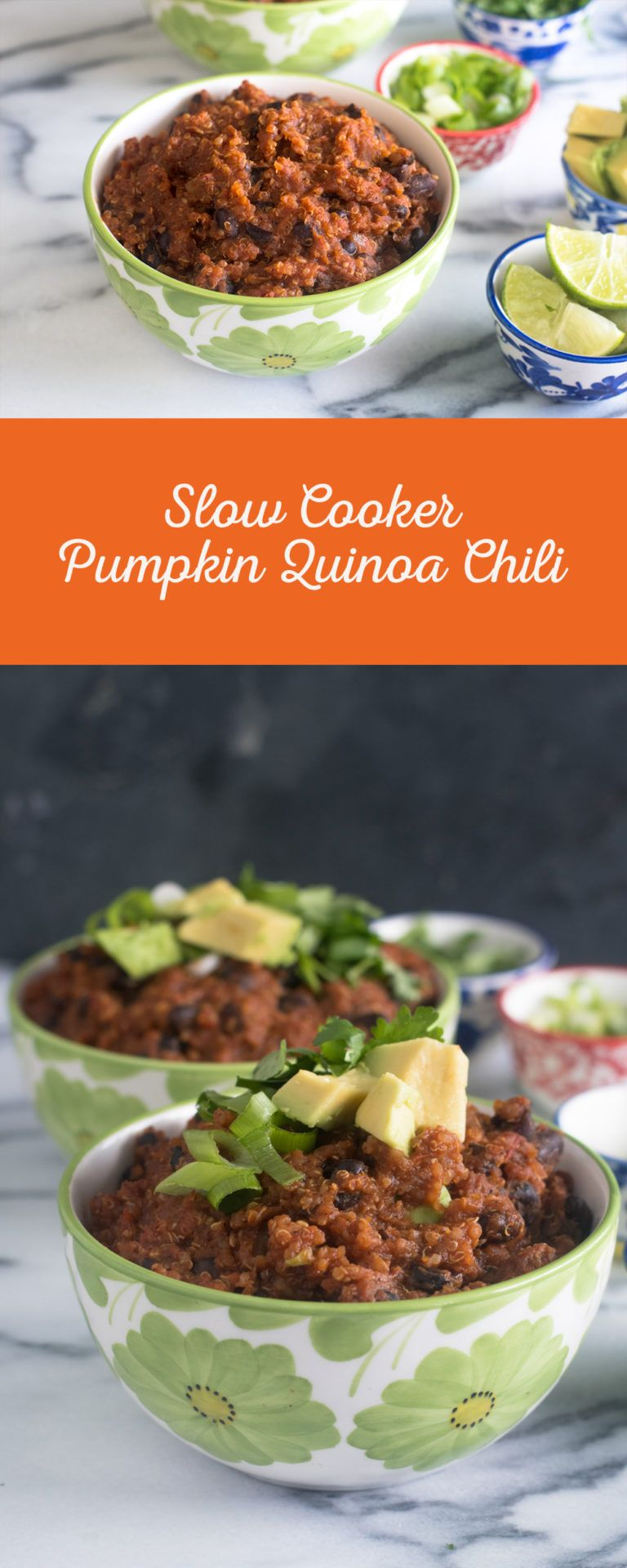 Slow Cooker Pumpkin Quinoa Chili Recipe Pumpkin quinoa