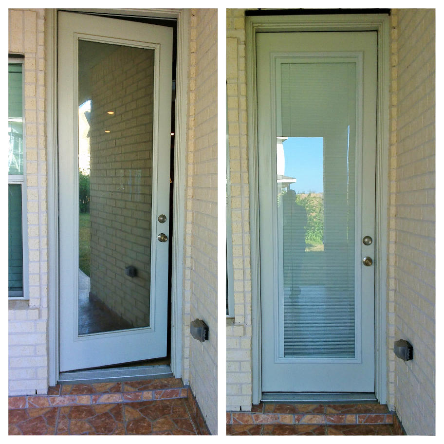 Before And After Pictures Of An Eight Foot Door That Was Remodeled