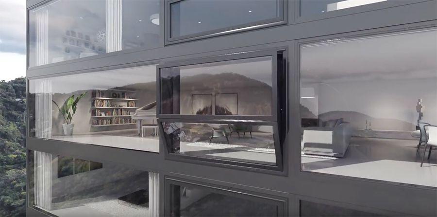 """""""Bloomframe"""" – Ein Fenster wird per Knopfdruck zum Balkon"""