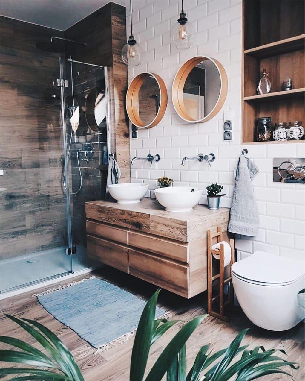 Minimal Interior Design Inspiration 169 Bright Bathroom Trendy Bathroom Bathroom Inspiration Small bathroom bathroom design
