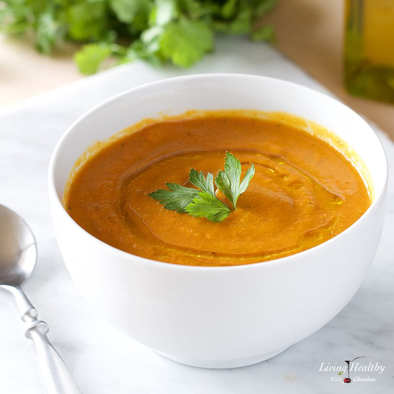 Carrot-Apple Soup (Paleo, Gluten-free, Low Carb, Whole30)