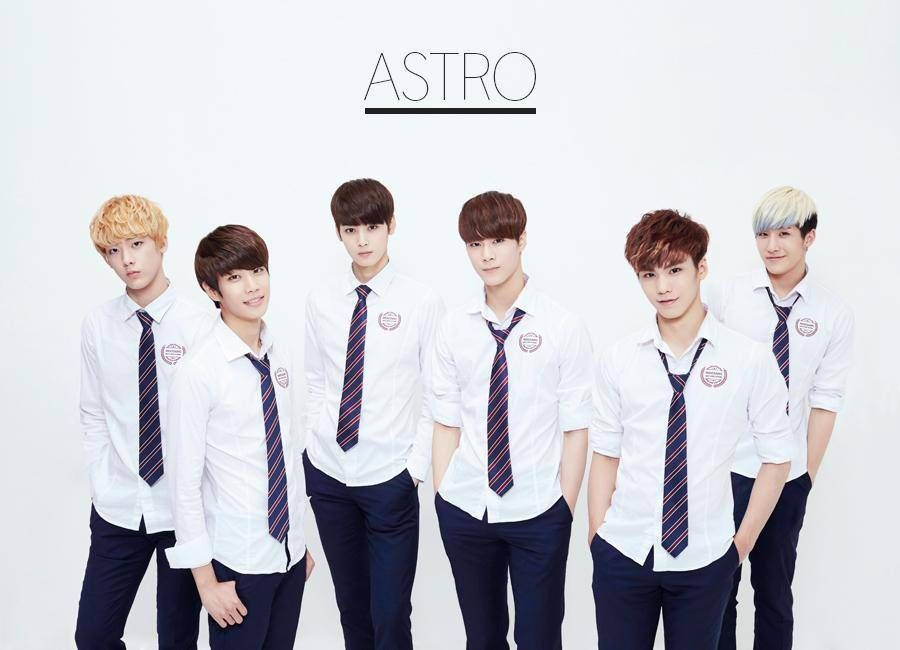 Fantagio Introduce The Six Members Of New Boy Group Astro Astro Kpop Astro Boy Groups
