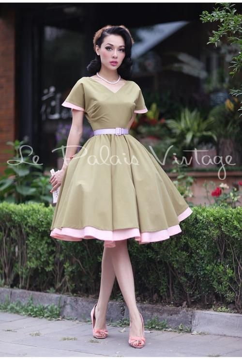 Le Palais Vintage Retro Classic 1950 Full Skirt Ball Gown