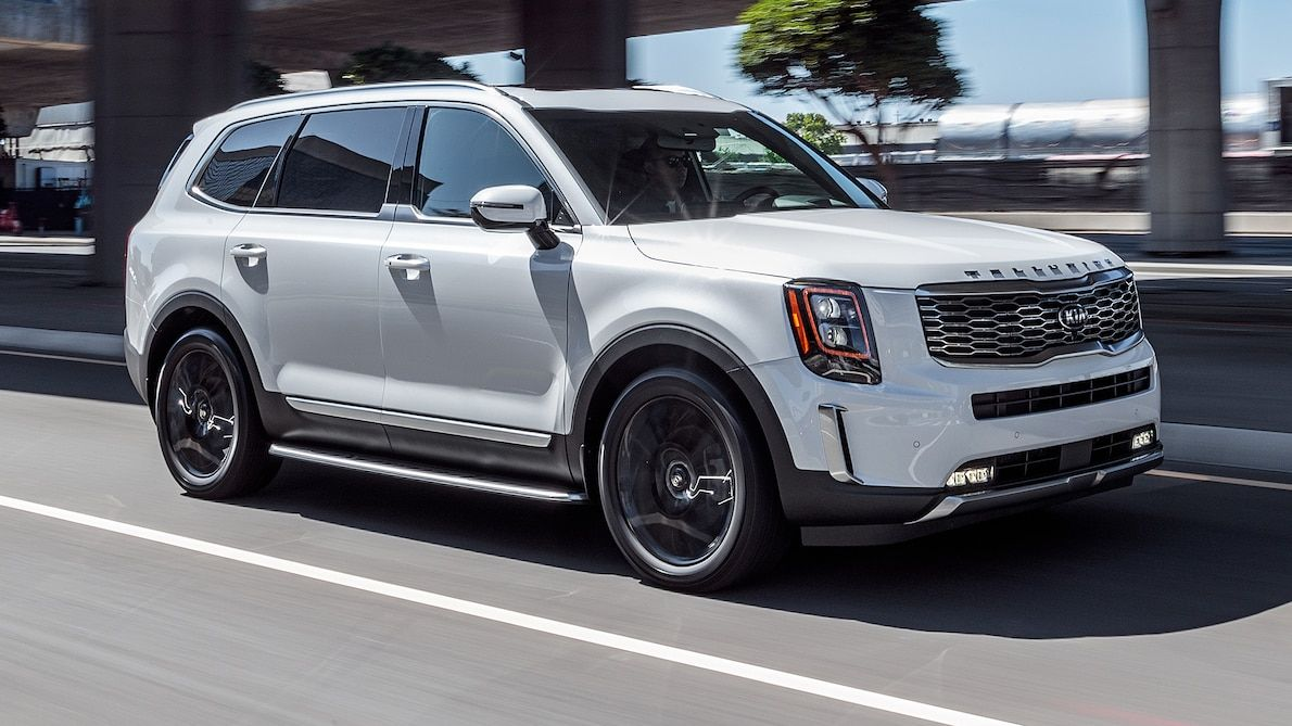 2020 Kia Telluride First Test Review Big Boxy And Actually Cool Kia Suv Telluride