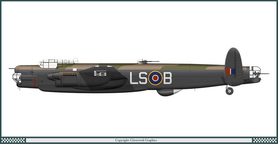 Avro Lincoln II - 15 Dywizjon RAF (1947)