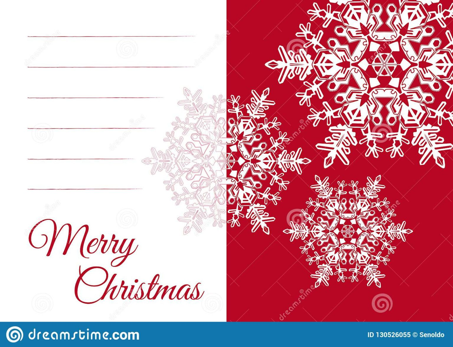 Christmas Greeting Card Template With Blank Text Field Stock With Regard Christmas Card Template Christmas Card Templates Free Christmas Greeting Card Template