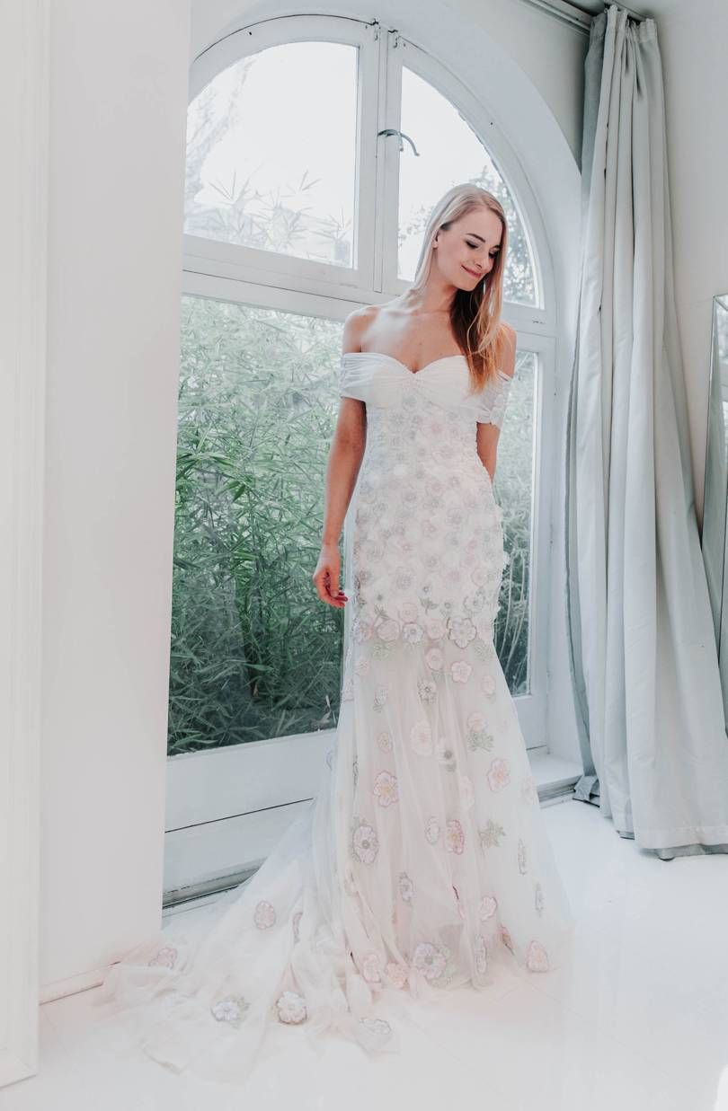28 Floral Wedding Dresses Perfect For A Spring Wedding Wedding