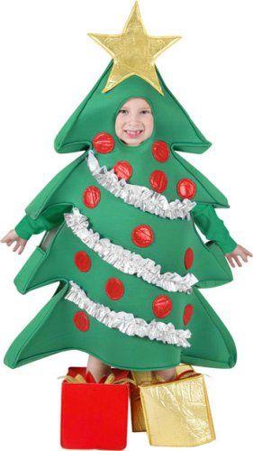 Amazon Com Kid S Christmas Tree Costume Size Medium Toys Games Christmas Tree Costume Christmas Tree Halloween Costume Tree Costume