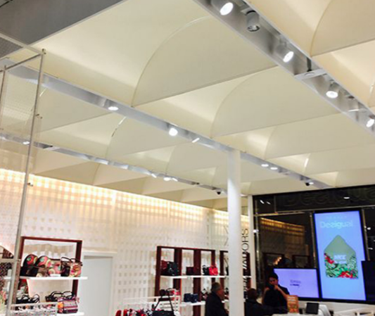 Semicircle light diffusers panels not only distribute light