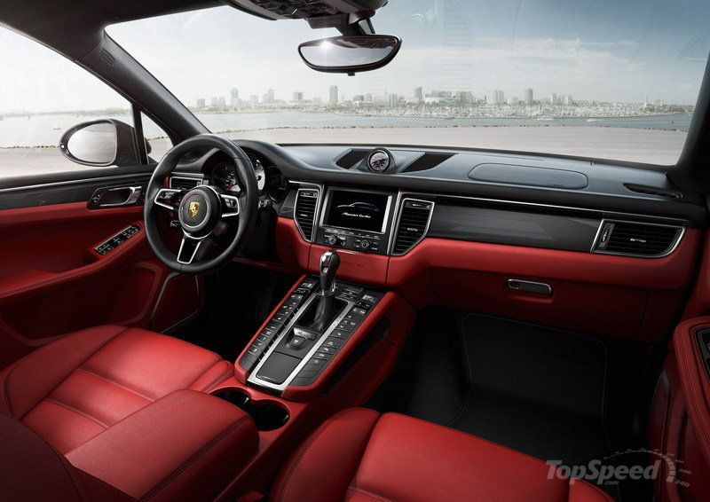 Luxury 2018 Porsche Macan Interior