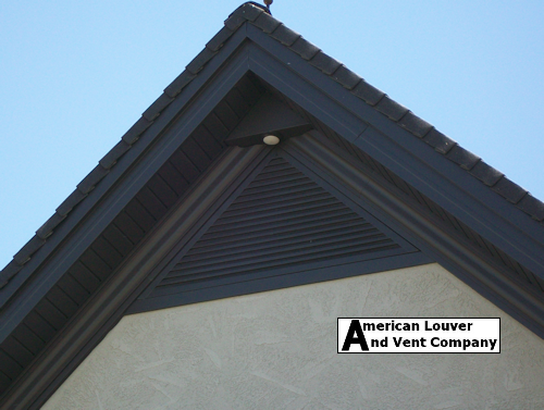 12 12 Pitch Triangle Gable Vent Gable Vents Attic Vents Vented