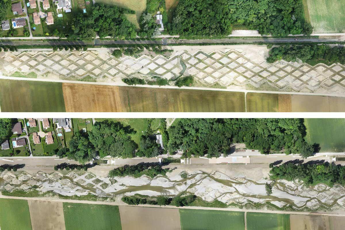 10 Naturalization River Channel Landscape Architecture Easytomap Evolution Jui Ankel Silva 10 Naturalization River Chan In 2020 Landscape Architecture Landscape