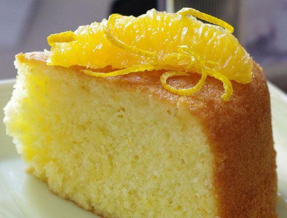 طريقة عمل كيكة البرتقال الاسفنجية Recipe Dessert Recipes Food Recipes