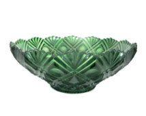 Plastic Decorative Bowls Vintage Green Bowl 1970's Green Plastic Bowl Serving Display