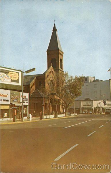 Brick Church On Main Street Main Street East Orange Street