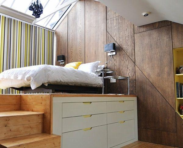 Lit mezzanine  une pièce supplémentaire cosy et intimiste Mezzanine