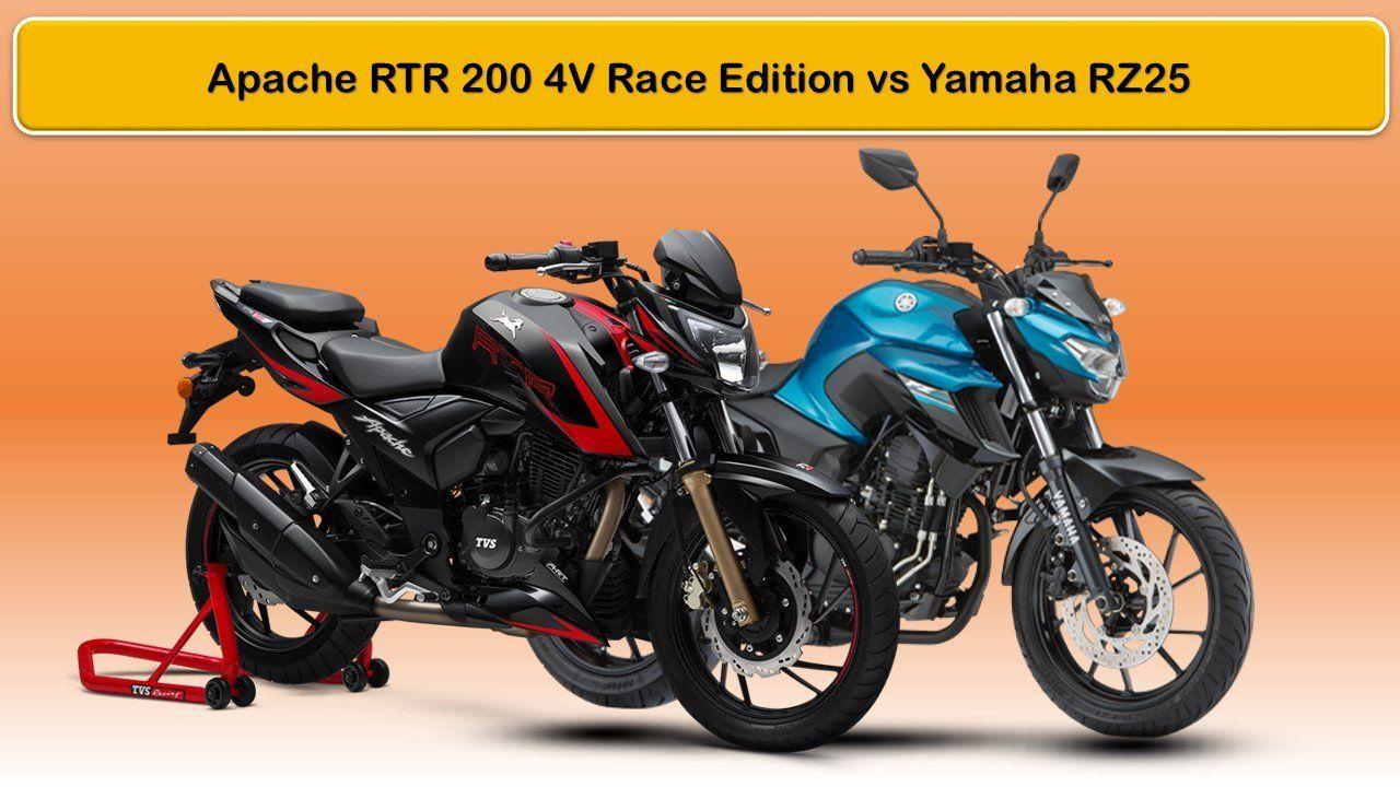 Yamaha Fz 25 2019 Spy Shoot From Comparison Tvs Apache 200 4v Race