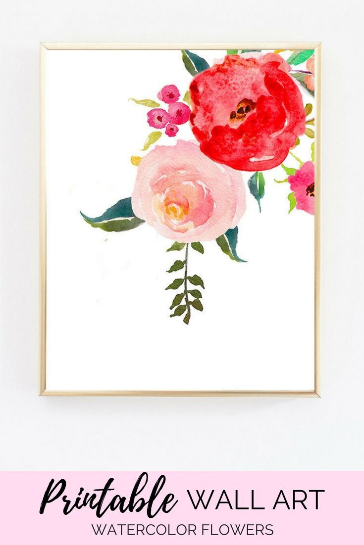 Printable flowers digital download art art prints large wall art
