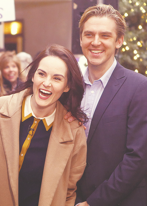 12 best All kinds of Downton Abbey~ images on Pinterest ...  Michelle Dockery And Dan Stevens Married