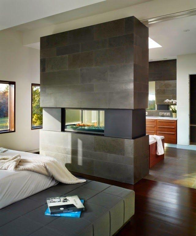 Room Divider Ideas Fireplace Decor Contemporary Fireplace