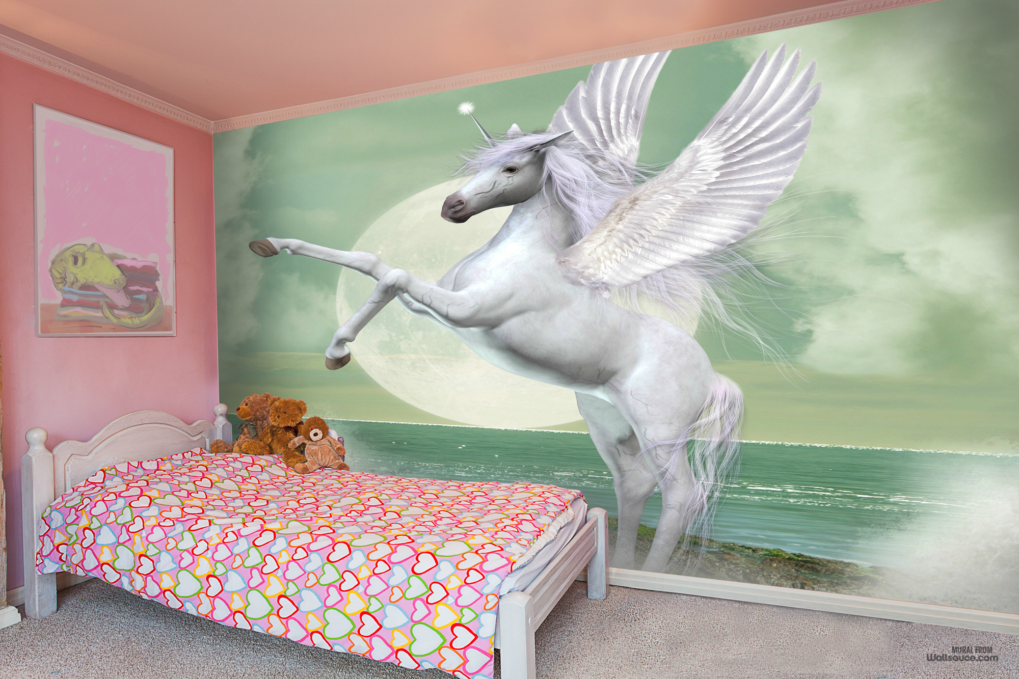 Unicorn Pinterest Wall murals Unicorns and Wallpaper