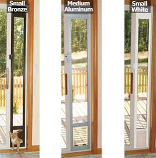 Give Your Cat Access To The Outside From Sliding Gl Door This Air Panel Fits Patio Frame With Partially Open