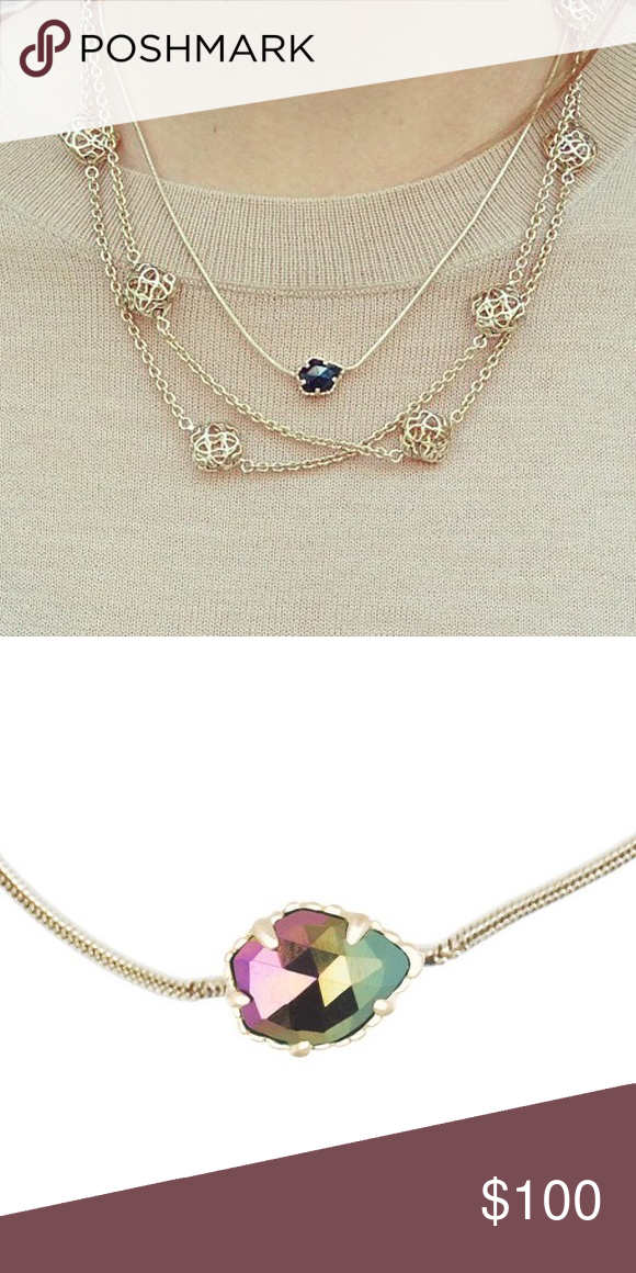 ***ISO*** Kendra Scott Mara Necklace I'm in search of a black iridescent Mara necklace to match my Tessas! Kendra Scott Jewelry Necklaces