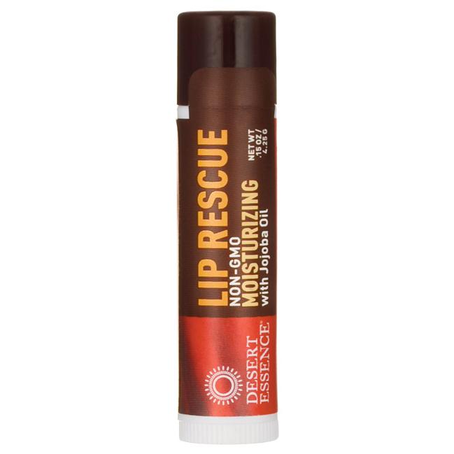 Desert Essence Lip Rescue Moisturizing with Jojoba Oil | 0.15 oz Balm #jojobaoil