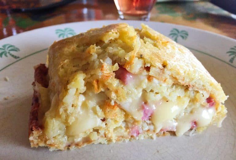 Roulé aux pommes de terre façon tartiflette (recette ...