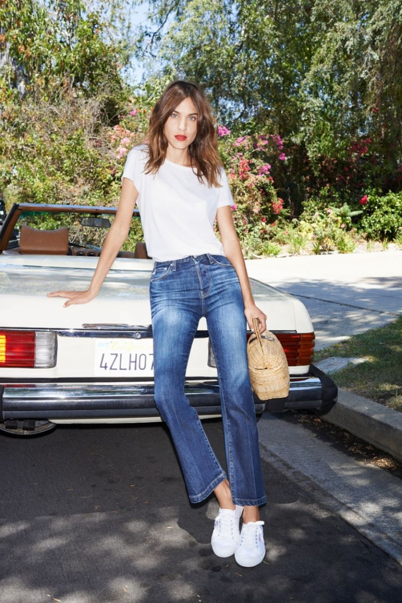 Alexa Chung's New AG Jeans Collection of Fall 2015 forecast