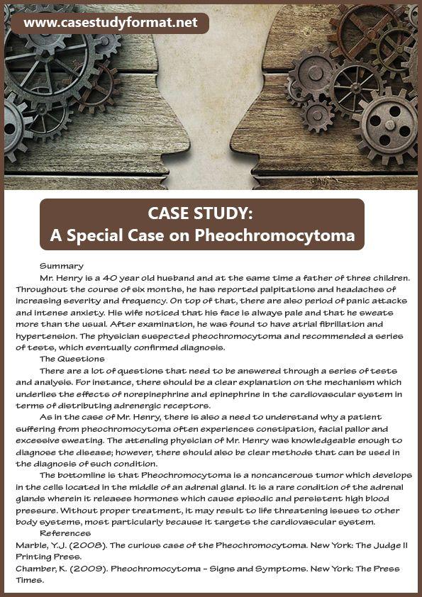 Psychology Case Study  Case Study Examples