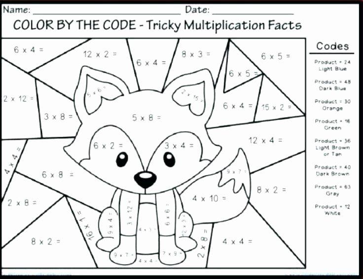 Fall Math Worksheets 2nd Grade Second Grade Math Review