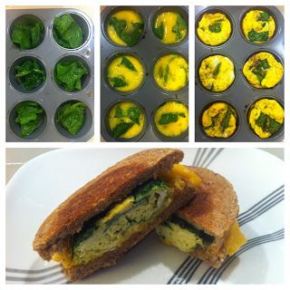 Amazing, quick and easy breakfast sandwiches! Great clean eating recipes!