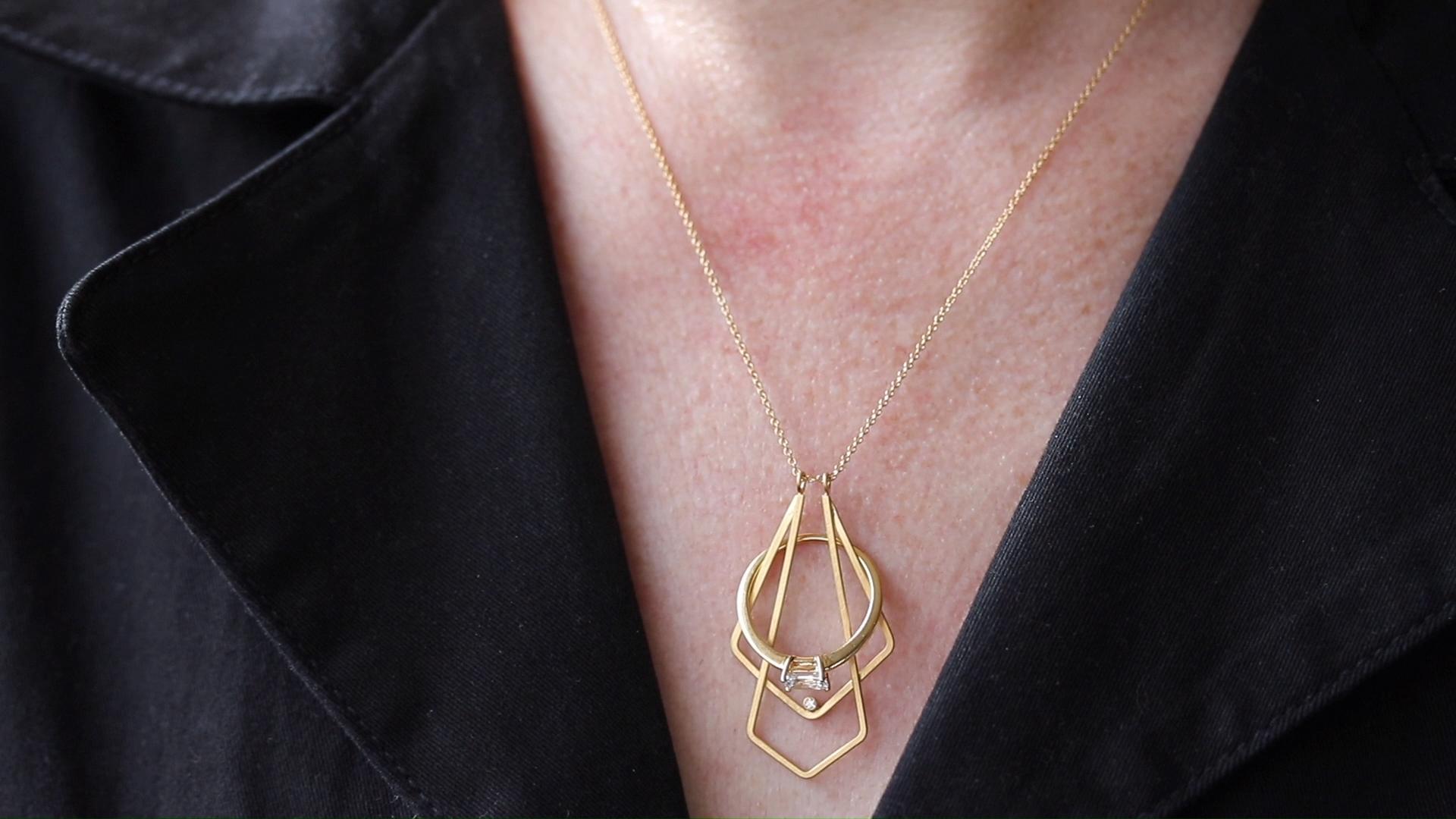 Jewelry Holder Necklace Length Chart Earrings de moda