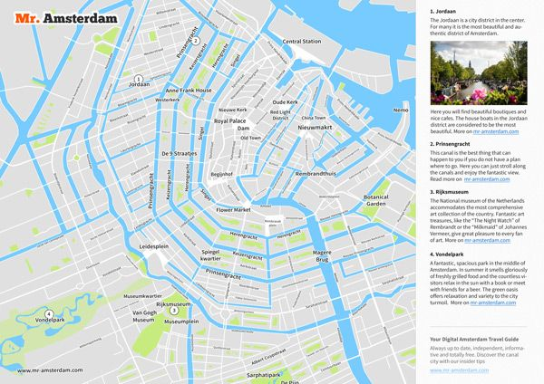 On our offline Amsterdam map youll find all important attractions