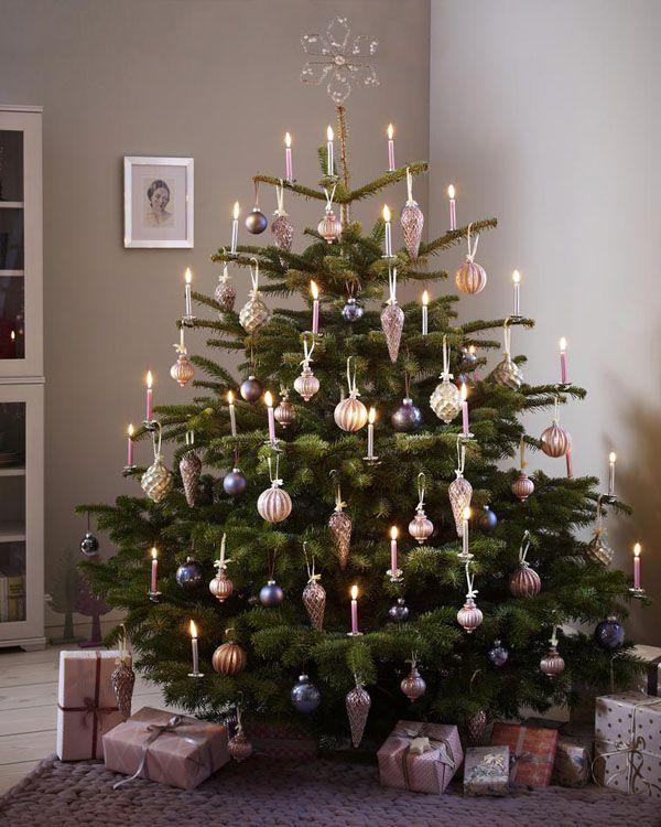 festlich wir dekorieren den christbaum romantisch On christbaum modern schmà cken