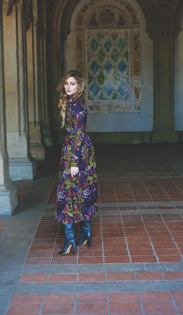 Olivia Palermo for Harper's Bazaar Mexico September 2014 by Johannes Huebl