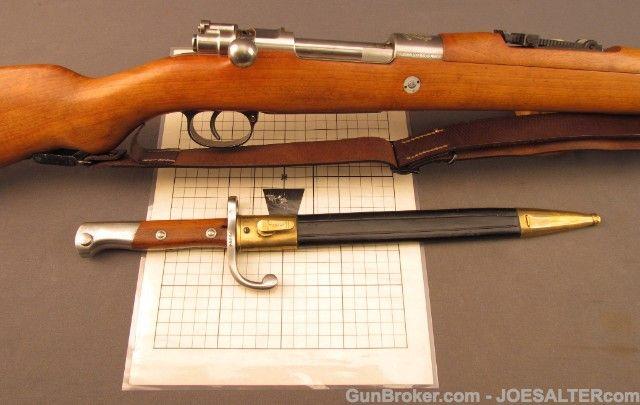 Brazilian Mauser Model 1908 Rifle Original Target | Mauser
